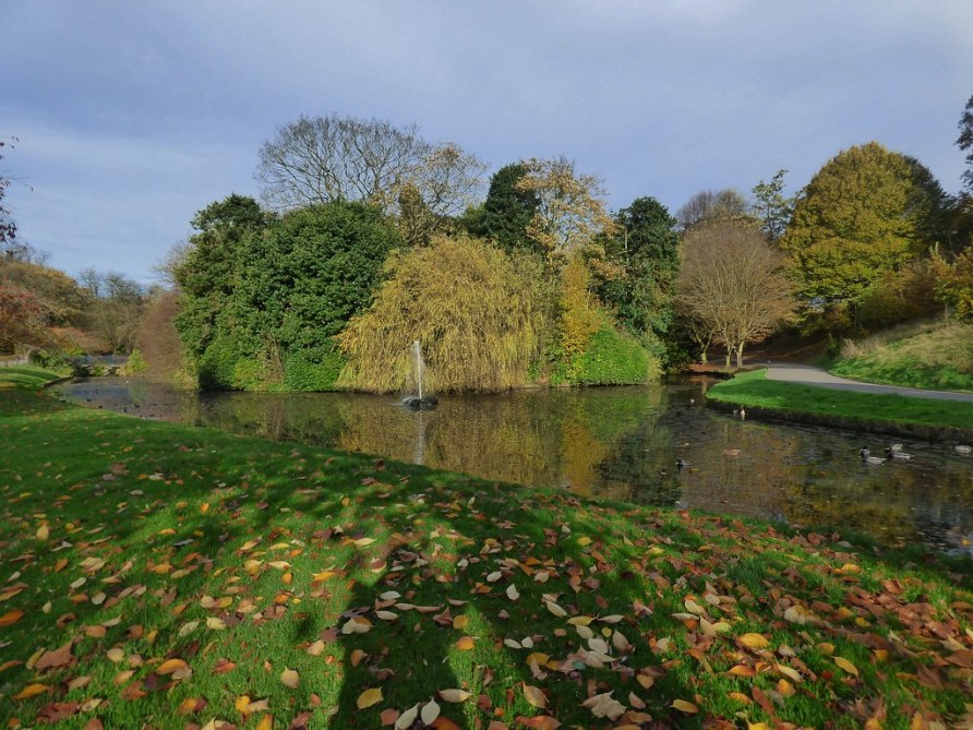 Sefton Park in Liverpool, Merseyside, England - November 2015