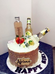 Somersby birthday cake 2