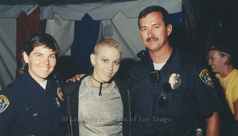 Backstage at San Diego LGBTQ Pride Festival, 1999