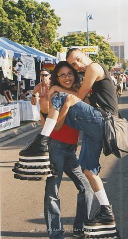 San Diego LGBTQ Pride Festival, 2001