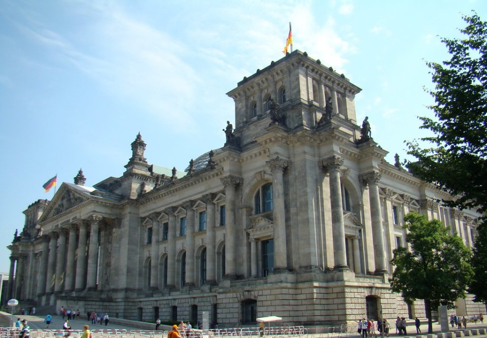 Berlin Bundestag o Reichstag 09 Alemania