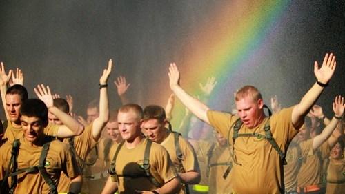 Cadet Field Training Run Back 2011 12