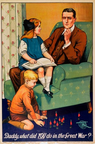 Daddy, what did YOU do in the Great War? | A very famous WWI… | Flickr