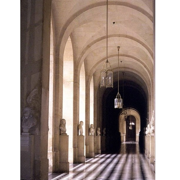 A hallway in the #Louvre in #Paris