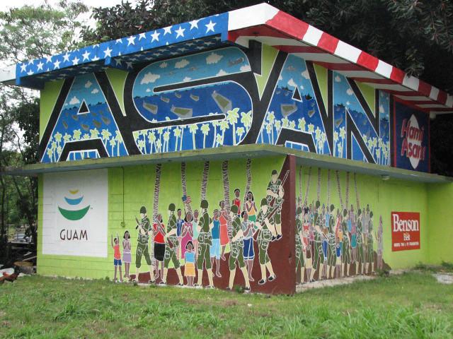 Asan Mural by Ariel Dimalanta
