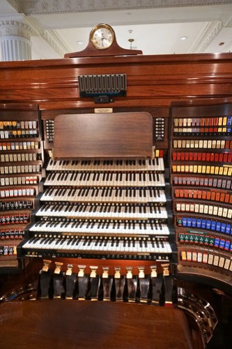 Console of the Wanamaker Organ