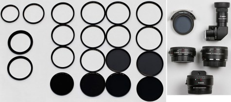 Filters and Optical Accessories