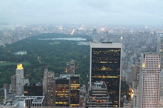 central park - from Top of the Rock