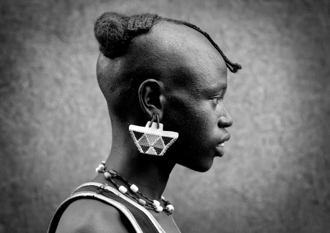 Tsemay man in key Afer - Ethiopia