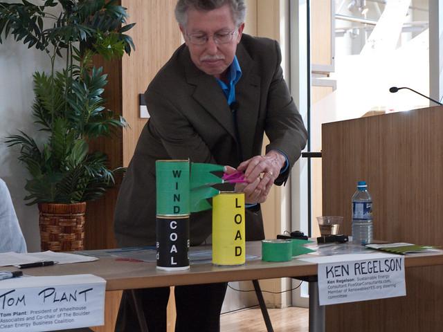 Ken Regelson Demonstrates Wind Curtailment