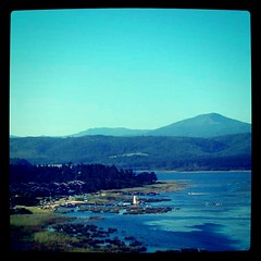 The inlet in #Knysna #southafrica. One of the most beautiful places to retire that I can imagine