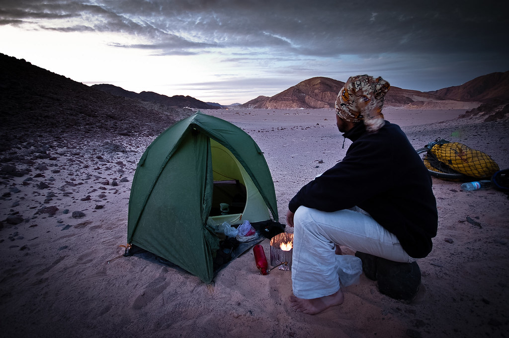 Camping in the Sinai