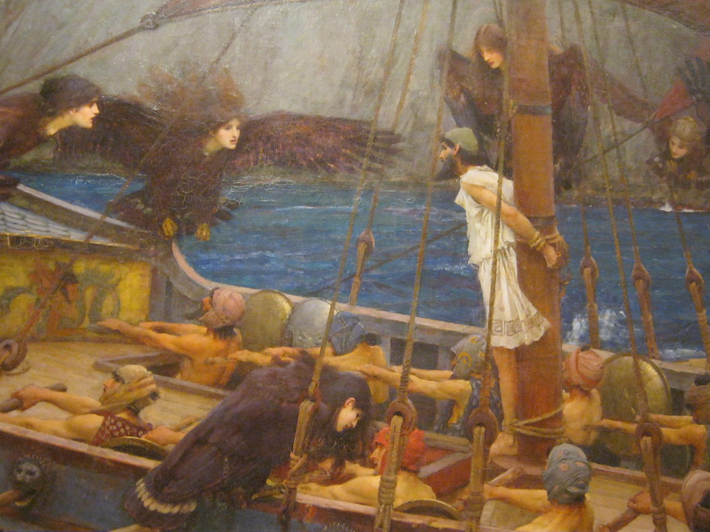 The Sirens And Odysseus