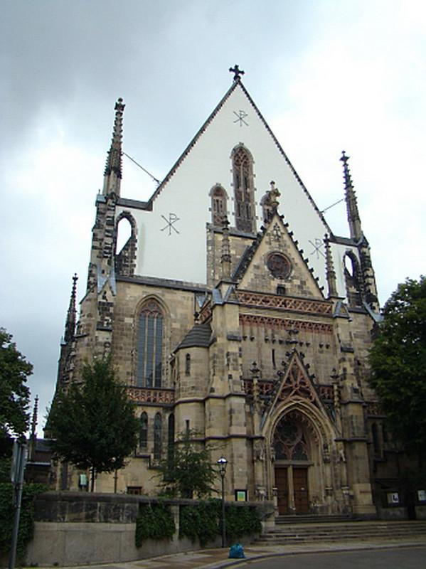 portada exterior Iglesia Santo Tomas Leipzig Alemania 05