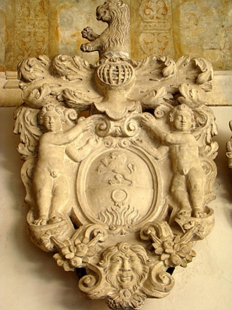 Padua museo escudos heraldicos en la universidad Italia 28