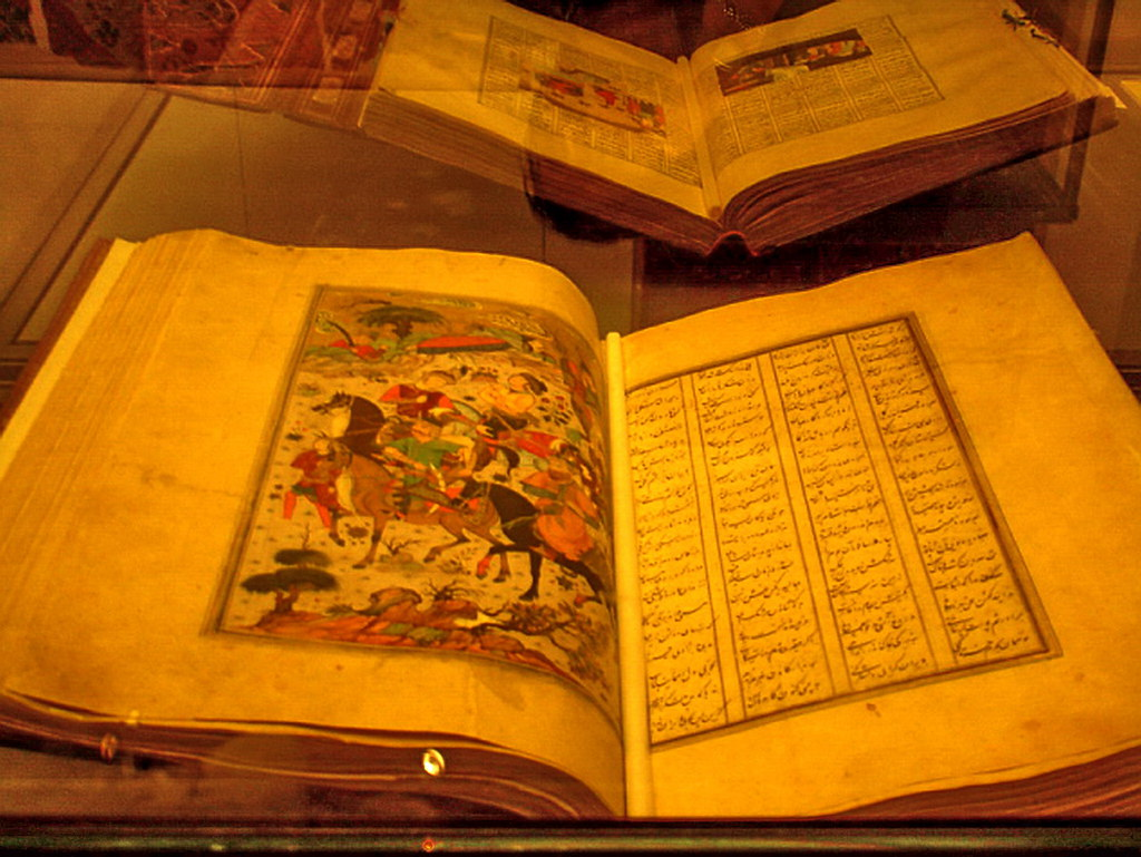 libros Museo Pergamo arte islamico Berlin Alemania 03