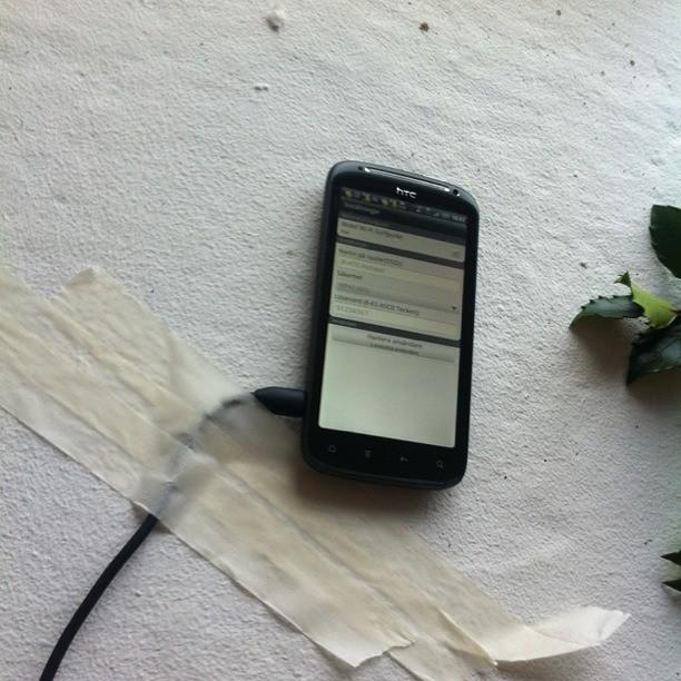 HTC med Tre som trådlös accesspunkt på Bosjökloster