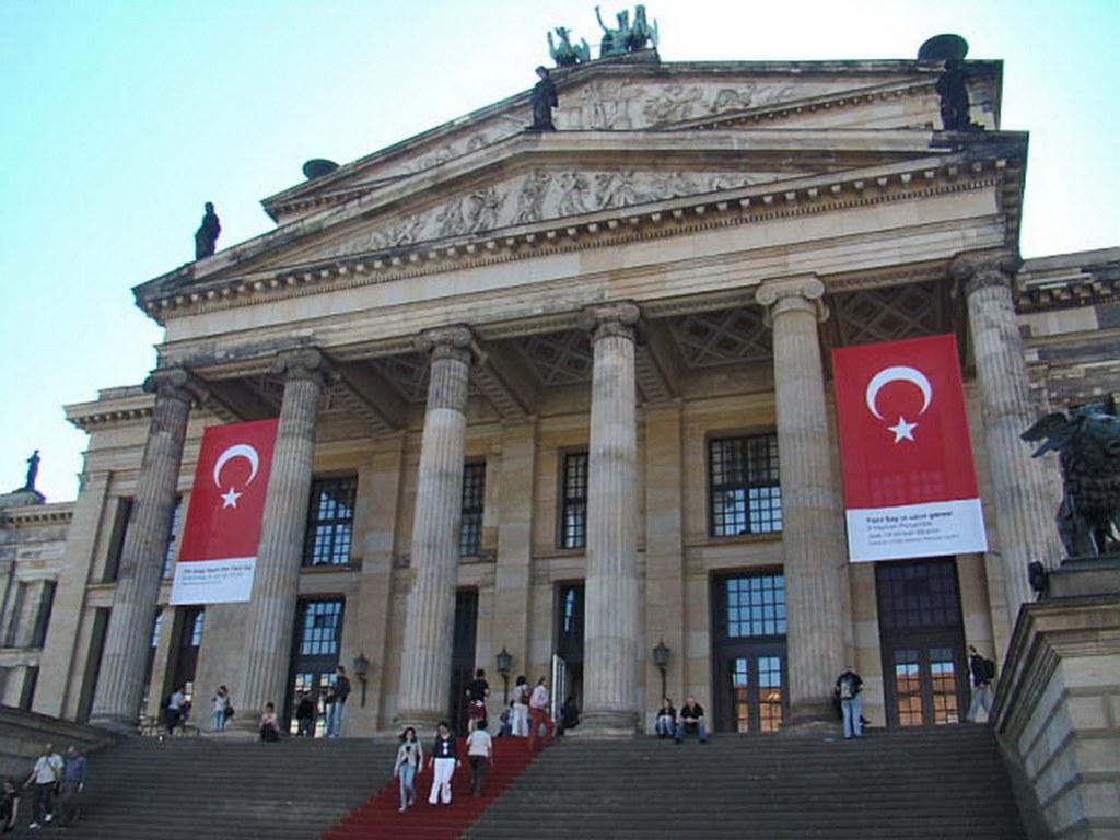 Konzerthaus Berlín sede de la orquesta sinfónica de Berlin Alemania