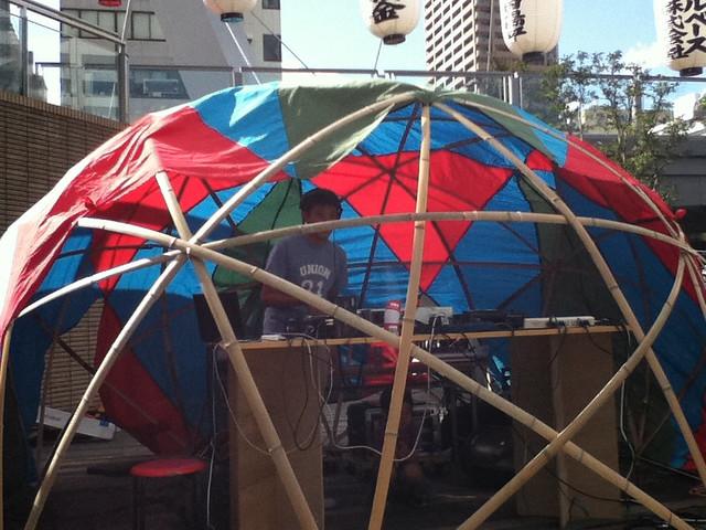 Star dome (bamboo frame)