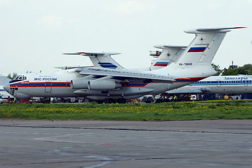 RA-76845 Il-76TD MChS Rossii-Russia Ministry for Emergency ...