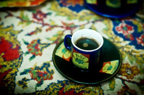 Syrian coffee cup