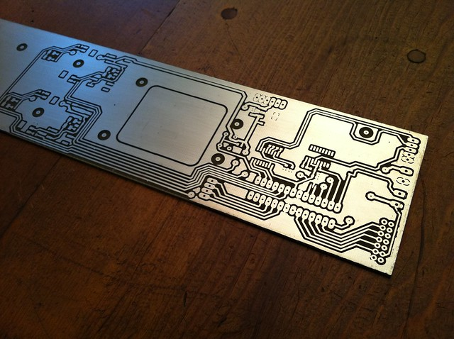 PCB - etched & plated