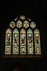 Stained Glass at Bath Abbey