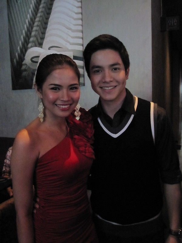 Louise delos Reyes and Alden Richards