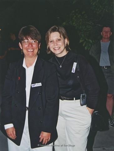 San Diego LGBTQ Pride Rally, 2001