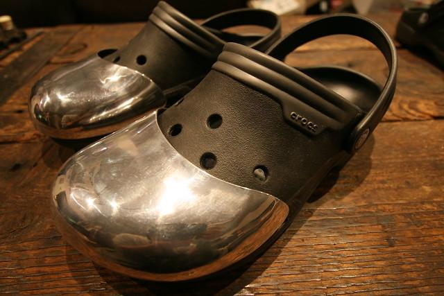 Safety toe crocs