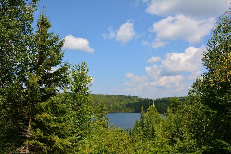 Laurentian Divide Scenic Overlook/Birch Lake