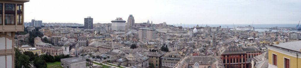 Genoa   Italy   Cycling Europe