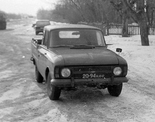"Иж-27151-011   Пикап на базе ""Москвич Иж 2715"" Фото 1980-х ..."