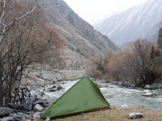 The road from Bishkek to Osh | Jan, 2016
