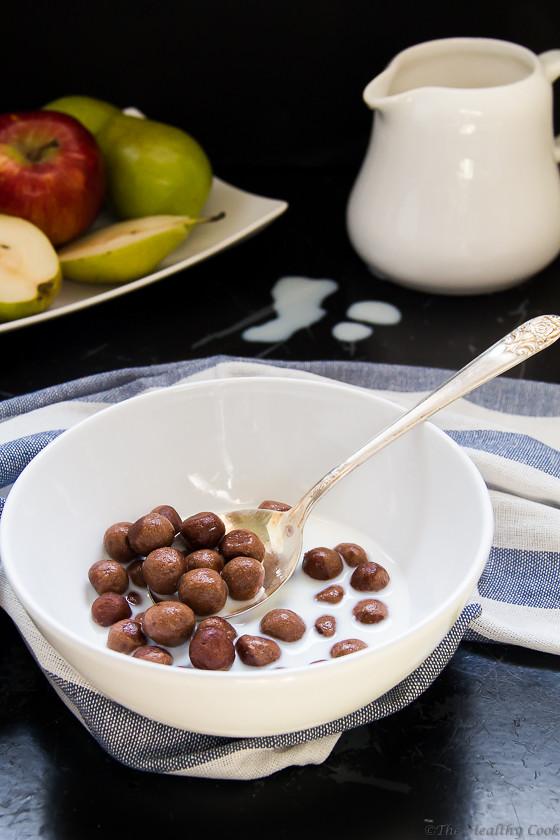 Homemade Cocoa Puffs – Σπιτικά Cocoa Puffs