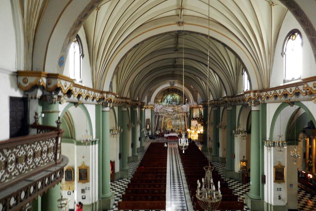 Lima Iglesia del Convento de Santo Domingo Peru 15