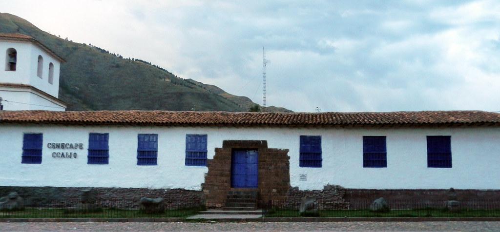 edificio pueblo de Andahuaylillas Peru 04