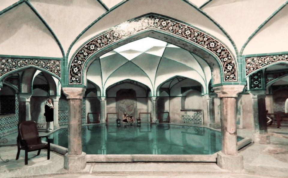 Baños de Ganje Ali Khan Kerman Irán 08