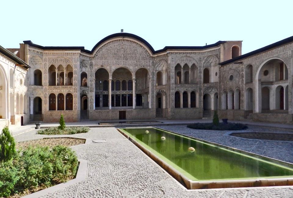 Casa de Tabatabaei Kashan Iran 12