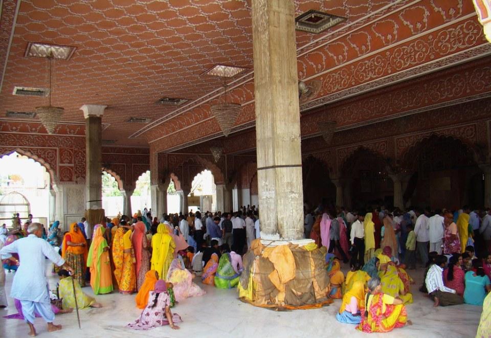 India Jaipur Templo Govind Dev Ji 14