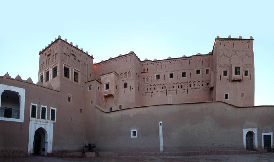 patio interior Kashba Taourirt Ouarzazate Marruecos 06
