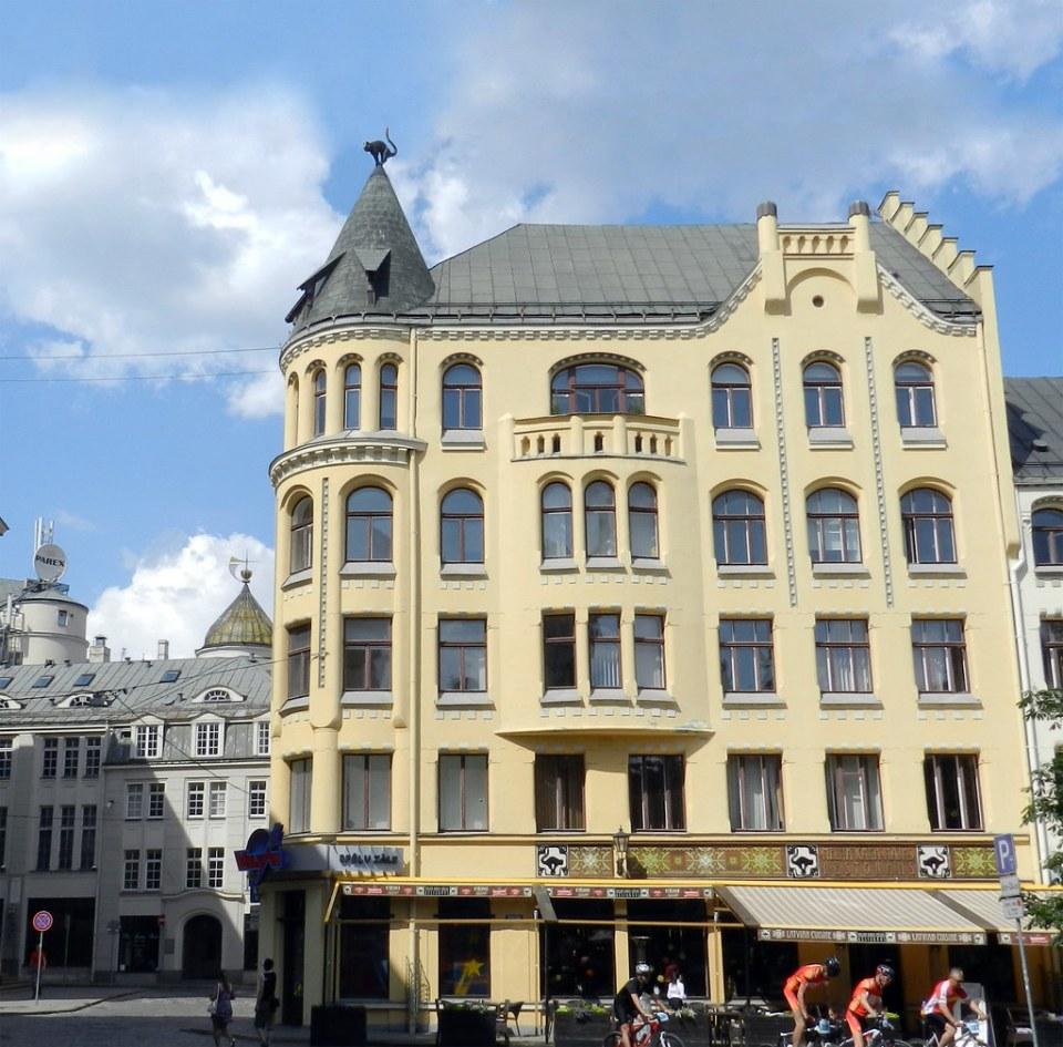Casa de los gatos Riga Letonia 02