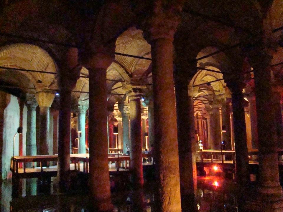 Turquia Cisterna Basilica Estambul 08
