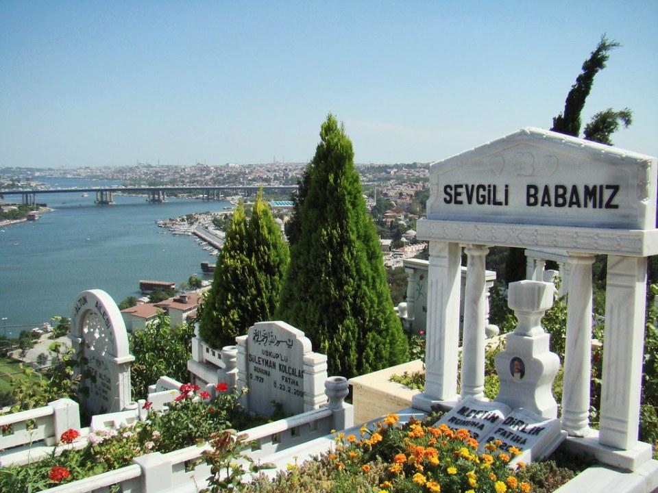 Turquia Estambul cementerio Colina Pierre Loti 07