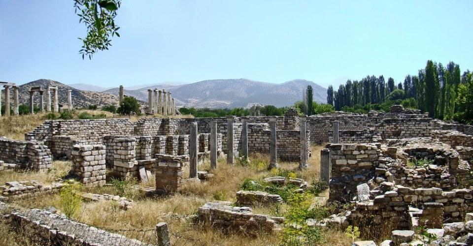 Palacio Episcopal y Templo de Afrodita Afrodisias Turquía 23