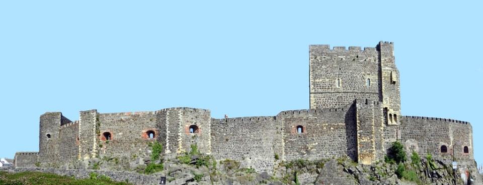 vista exterior Castillo Carrickfergus Ulster Irlanda del Norte 02