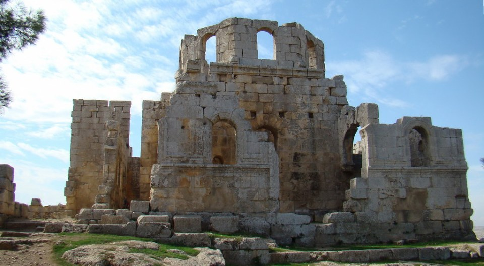 Baptisterio Monasterio de San Simeon Siria 55