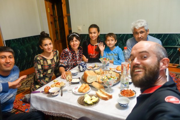 Second dinner at second random homestay in two nights