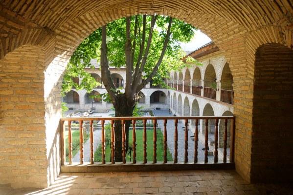 Stayed in this old caravanserri
