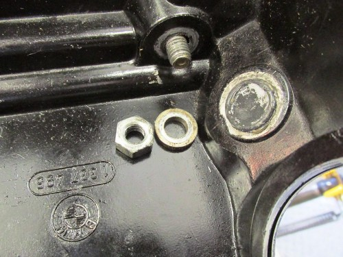 Right Air Box Nut Hardware Detail